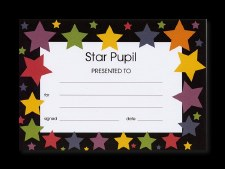 Star Pupil Certificates 20