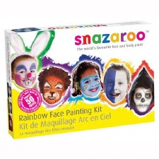 Face Paint Rainbow Kit