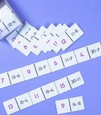Subtraction Dominos