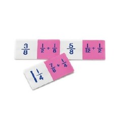 Fraction Basic Addition Domino