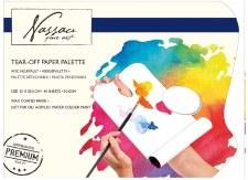 Tear off paper Palette