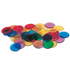 Transparent Counters - 19mm