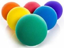Foam Balls x 6