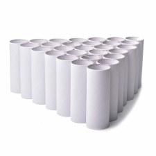 White Craft Rolls 25pcs