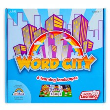 Word City Learning Landscapes
