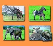 Tray Puzzle Giraffe