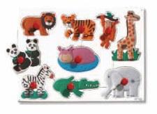 Big Peg Puzzles Jungle