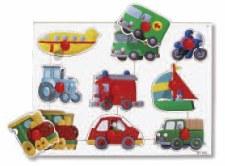 Big Peg Puzzles Vehicles