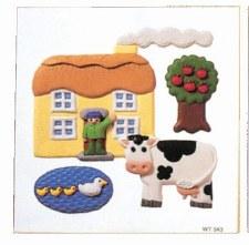 6pc Puzzle - House