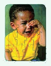 Puzzle Emotions Sad Boy Crying