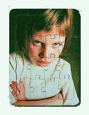 Puzzle Emotions Moody Girl