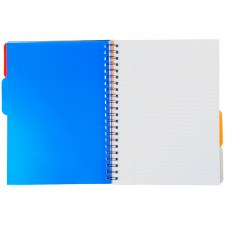 A4 Subject Divider Notebook