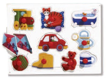 Big Peg Puzzles Toys