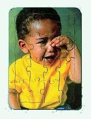 Puzzle Emotions Sad Boy Crying