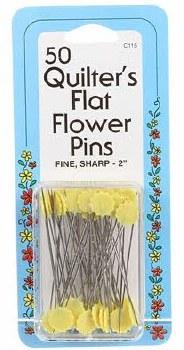 Pins - Flat Flower Pins