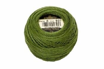 DMC Pearl Cotton 937 Avocado