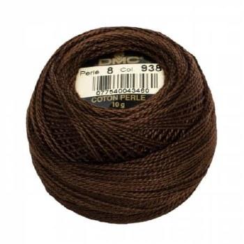 DMC Pearl Cotton 938 Coffee Br