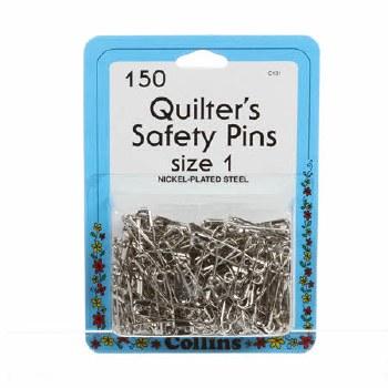 Safety Pins 1 1/16 Inch