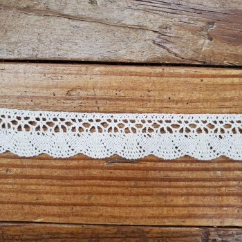 Lace Trim 7/8 Inch Wide