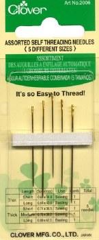 Needles, Self-Threading
