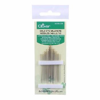 Needles, Milliners Size 3-9