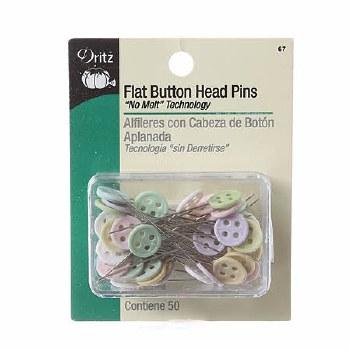 Pins-Flat Pastel Button
