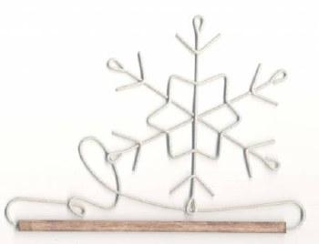 Holder 6 Inch Snowflake