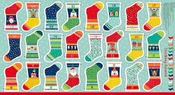 Novelty Christmas Stocking Panel