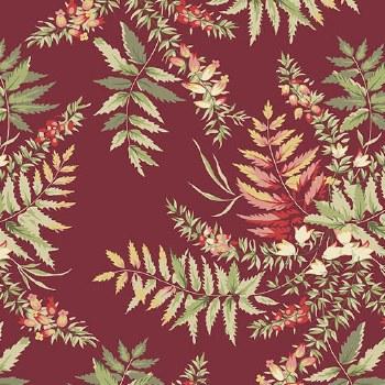 Seamstress Fern Cranberry