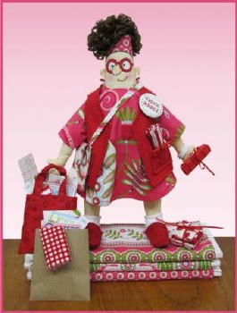Fabric Addict Doll Pattern