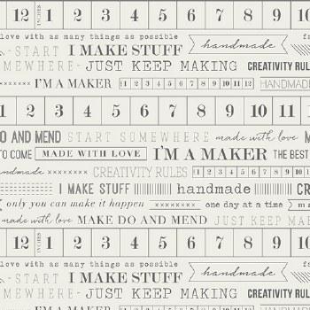 I'm A Maker Tape Measure Print