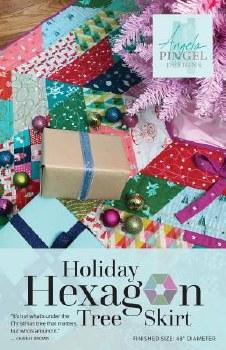 Holiday Hexagon Tree Skirt