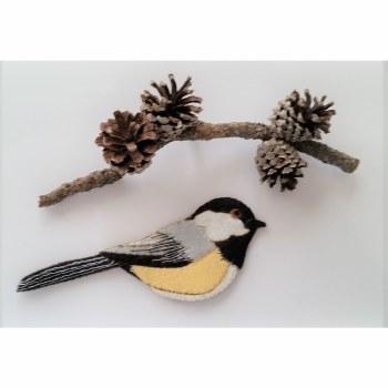 Chickadee Ornament Kit