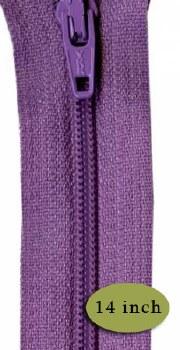 "Zipper 14"" Lilac"