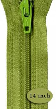 """Zipper 14"""" Kiwi"""