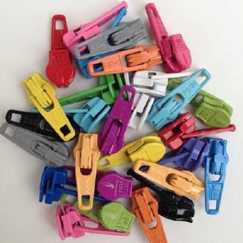 Zipper Pulls Candy Color Mix