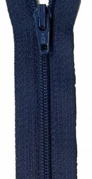 """Zipper 22"""" Navy Blue"""