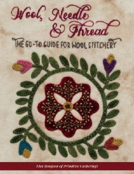 Wool Needle and Thread Book