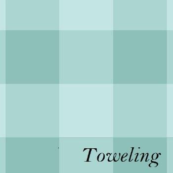 """Toweling 20"""" Buffalo Check Tea"""