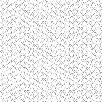Dot Waves White/Gray
