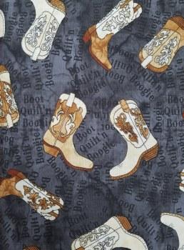 Nebraska Hop Boots Black Tan