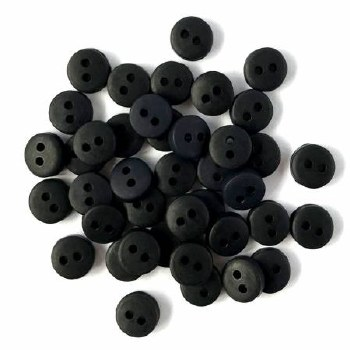 Buttons - Tiny Black