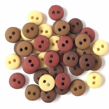 Buttons - Tiny Natural