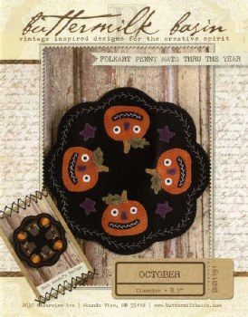 Folkart Penny Mats October