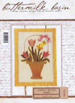 Spring's Blossom Basket