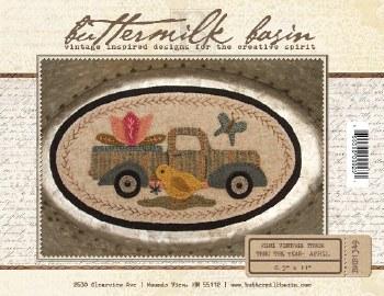 Mini Vintage Truck April