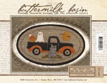 Mini Vintage Truck October