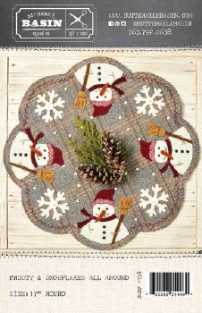 Frosty & Snowflakes All Around