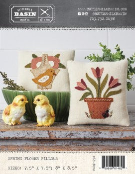 Spring Flowers Pillow