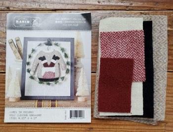 Santa in Chimney Ugly Sweater Kit